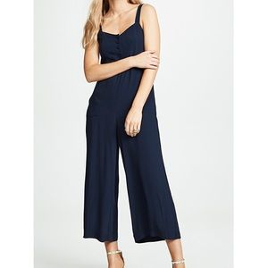 Madewell Button Front Wide Leg Jumpsuit 2